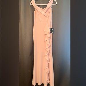 Peach/light rose long dress- New